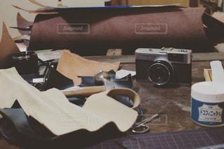 工房と革の写真・画像素材[932046]