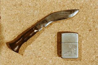 ナイフとフォークの写真・画像素材[1241977]