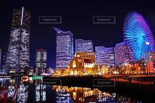 夜景の写真・画像素材[673801]