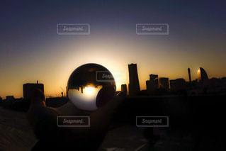 日没の前にトラフィック ライト - No.1087889