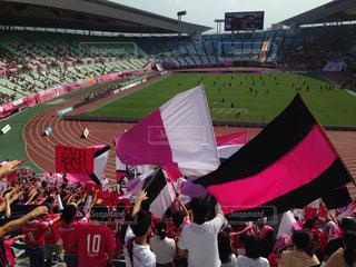 サッカーの写真・画像素材[673938]
