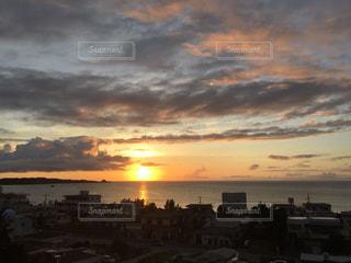 夕日の写真・画像素材[675428]