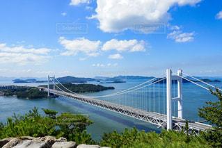 鷲羽山からの瀬戸大橋の写真・画像素材[725815]