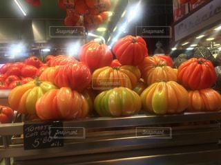 スペインのトマトの写真・画像素材[676421]