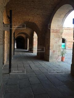 スペインの建物の写真・画像素材[680095]