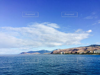 ハワイの海と山 - No.844380