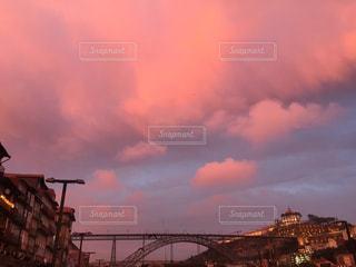 夕暮れのポルトガルの写真・画像素材[2367665]