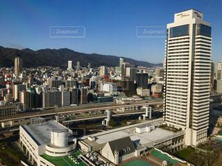 神戸ポートタワー 眺めの写真・画像素材[1299977]
