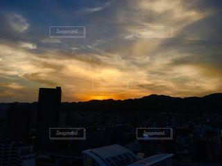 夕焼けの写真・画像素材[1307518]