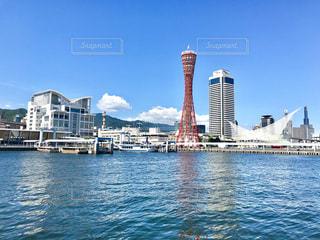 神戸メリケンパーク 晴天の写真・画像素材[1318359]