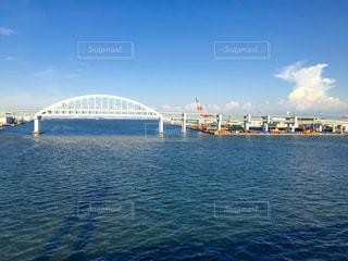 六甲アイランド大橋&入道雲の写真・画像素材[1318579]