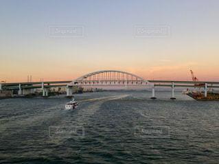 六甲アイランド大橋 夕焼けの写真・画像素材[1318753]