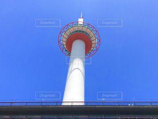 京都タワー 快晴の写真・画像素材[1321311]