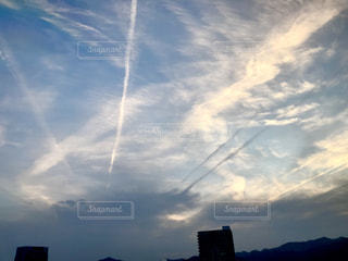 変わった雲の写真・画像素材[1321333]