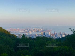 夕方の神戸の街の写真・画像素材[1360860]