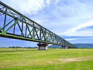 吉野川橋梁の写真・画像素材[1374182]