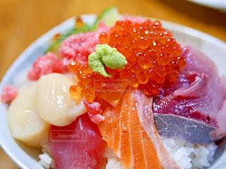 海鮮丼の写真・画像素材[1400499]