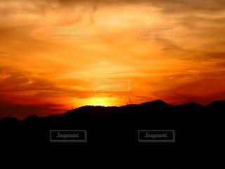 夕焼けの写真・画像素材[1416633]