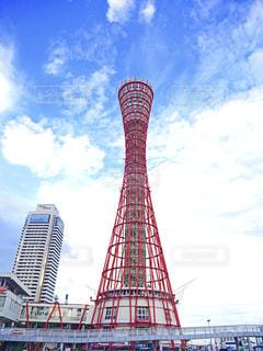 神戸ポートタワーの写真・画像素材[1427253]