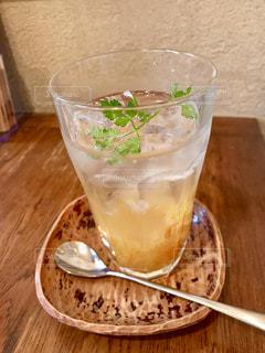 柚子ソーダの写真・画像素材[1446201]