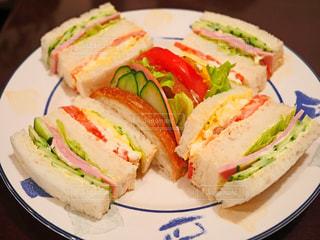 サンドイッチの写真・画像素材[1515100]
