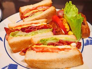 サンドイッチの写真・画像素材[1515116]