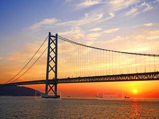 明石海峡大橋の写真・画像素材[1524133]