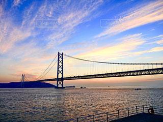 明石海峡大橋の写真・画像素材[1524136]