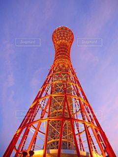 神戸ポートタワーの写真・画像素材[1535893]