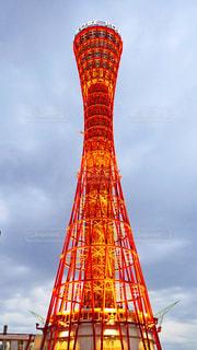 神戸ポートタワーの写真・画像素材[1572318]