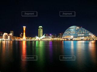 神戸の夜景の写真・画像素材[1602231]