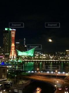 夜景の写真・画像素材[1635428]