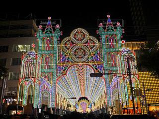 神戸ルミナリエ2018の写真・画像素材[1675889]