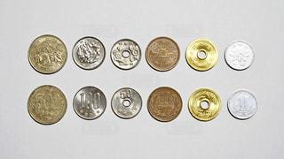 小銭(裏と表)の写真・画像素材[1679360]