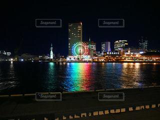 夜景の写真・画像素材[1694665]