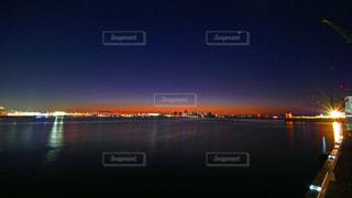 夜明け前の写真・画像素材[1698599]