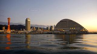 早朝の神戸の写真・画像素材[1698714]