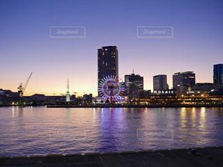 夕方の神戸の写真・画像素材[1726760]