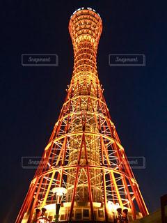 神戸ポートタワーの写真・画像素材[1746677]