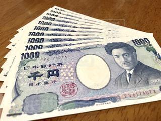 千円札 (10枚)の写真・画像素材[1767183]