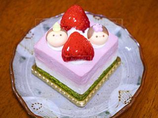 ひな祭りケーキの写真・画像素材[1822950]