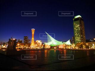 夜景の写真・画像素材[2032949]