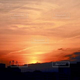 夕焼けの写真・画像素材[2066456]