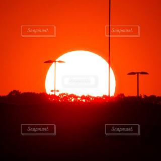 夕日の写真・画像素材[2085809]