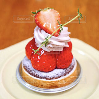 苺タルトの写真・画像素材[2092453]