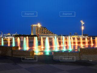 噴水の写真・画像素材[2137338]