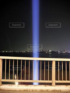 光の帯の写真・画像素材[2233827]