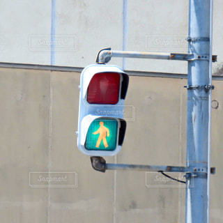 歩行者用信号機の写真・画像素材[2388839]
