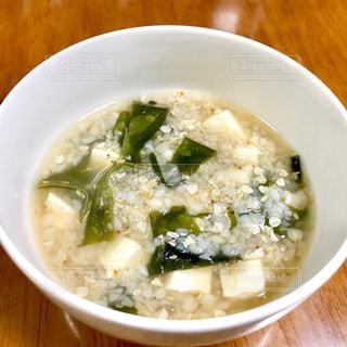 そば米スープの写真・画像素材[2400673]