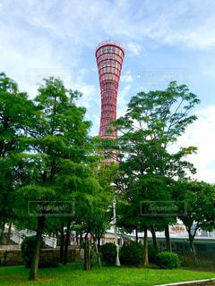 神戸ポートタワーの写真・画像素材[2404159]